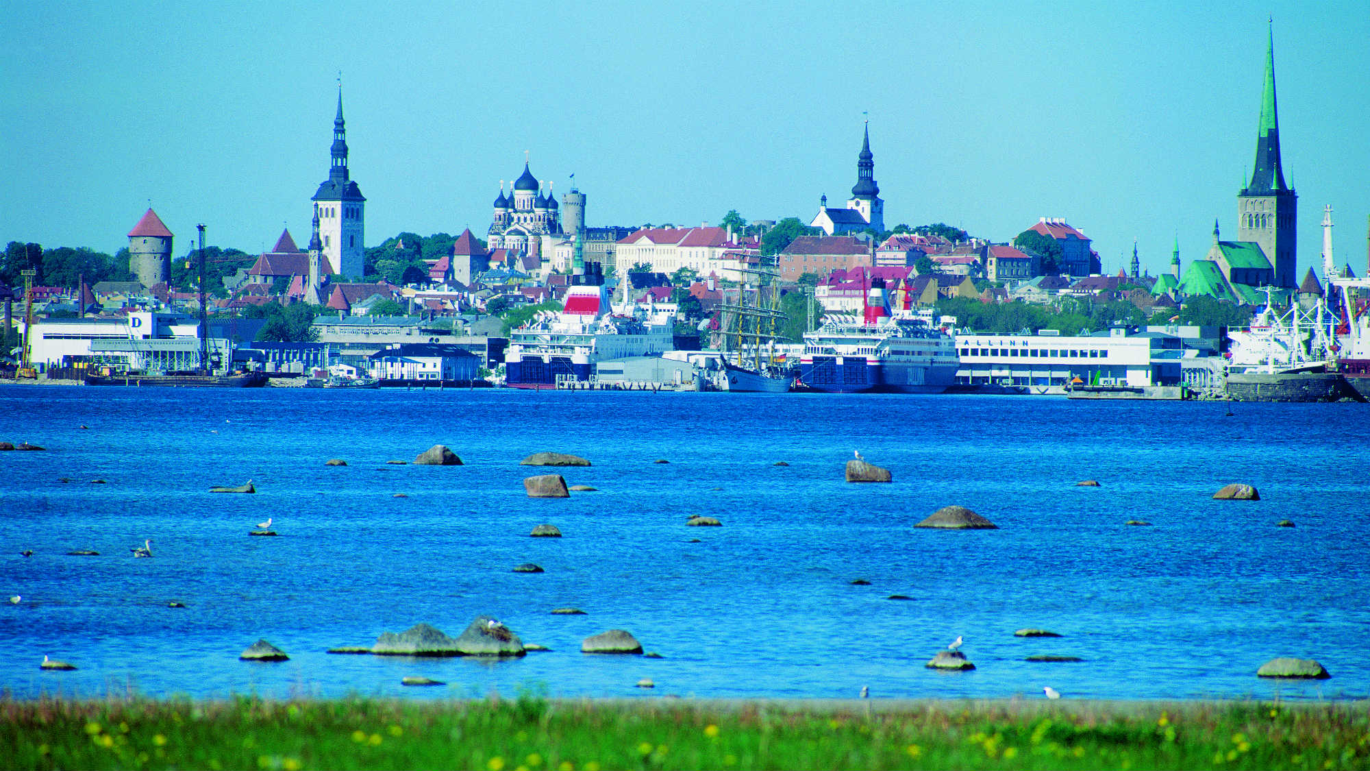 View to the Old Town from the Sea. Tallinn, Estonia. Picture by Toomas Volmer