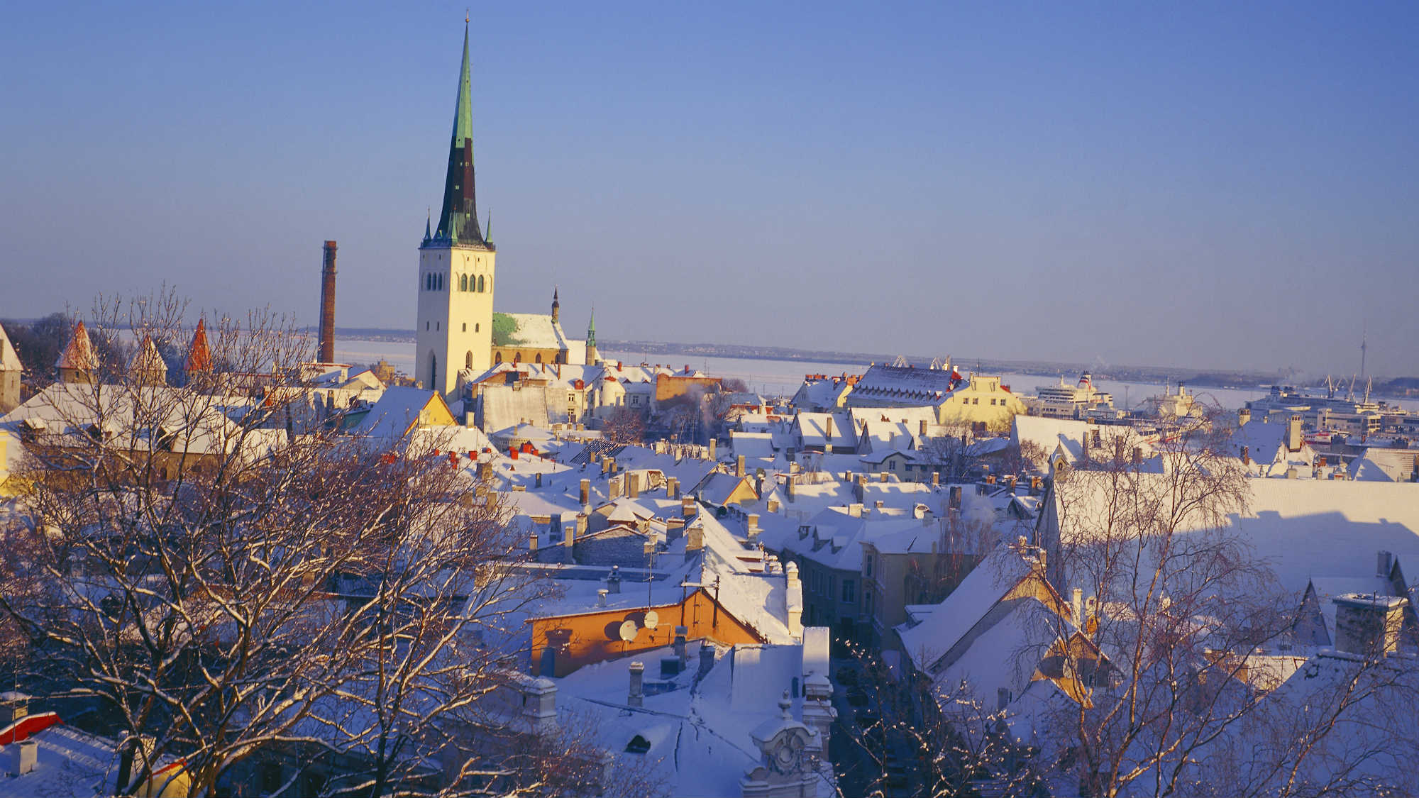 View to the magical Tallinn Old Town. Picture by Ain Avik