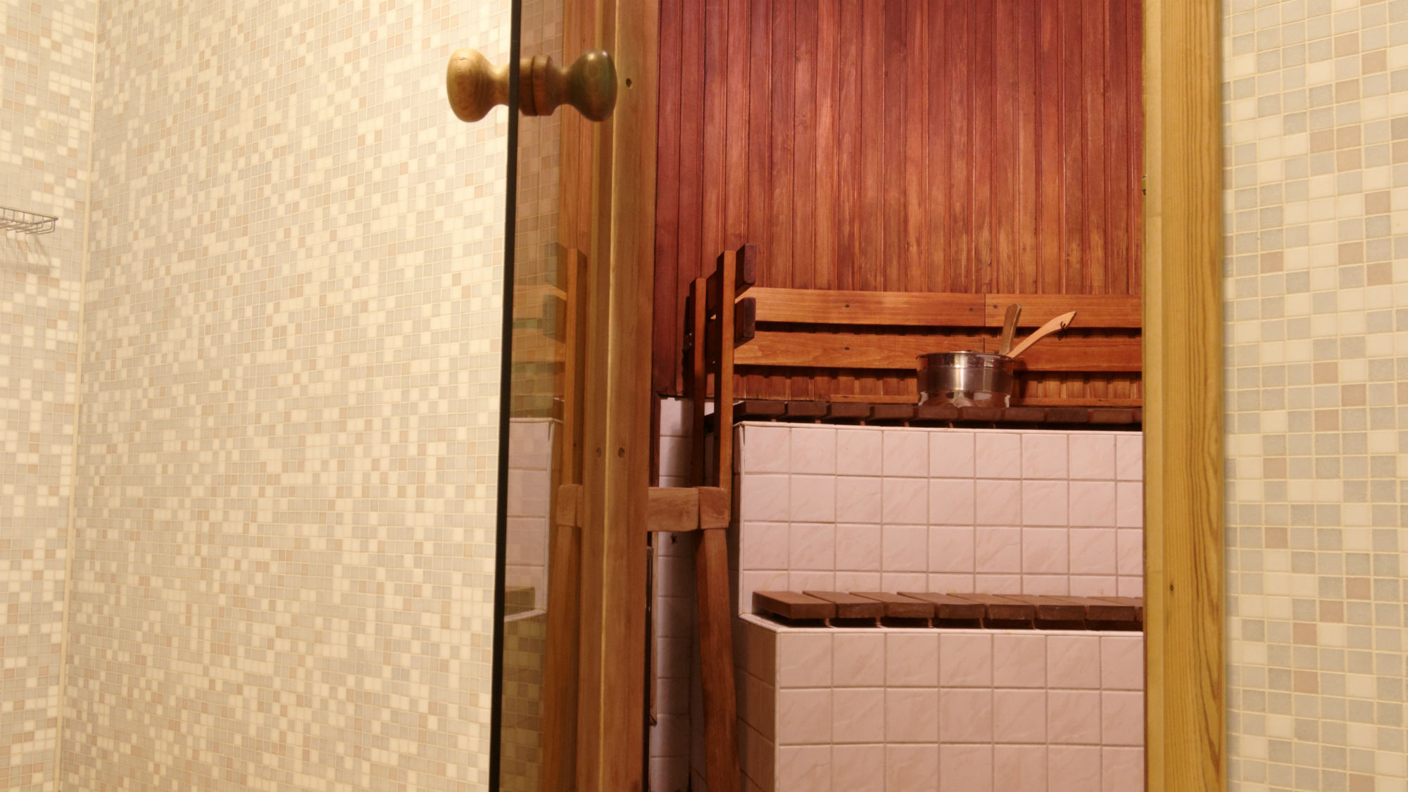 Sauna at the My City hotel Tallinn