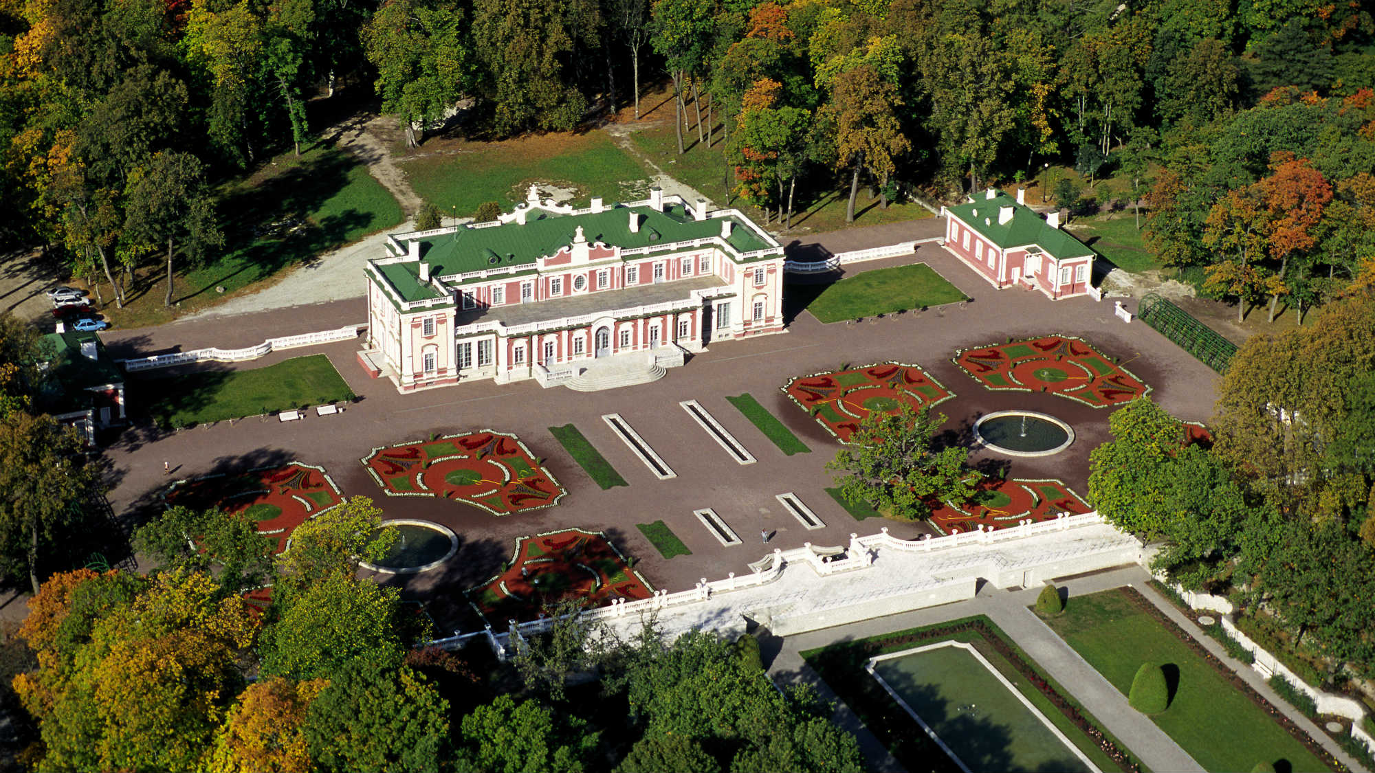 Beautiful park in Kadriorg. Picture by Toomas Volmer