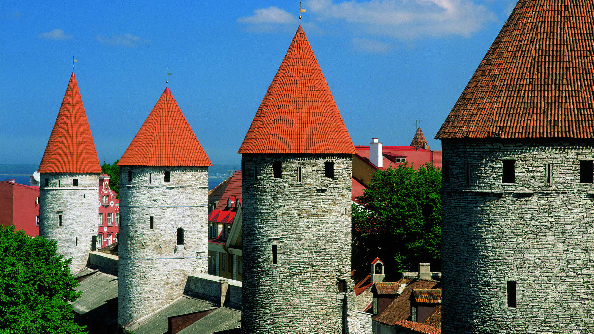 Tallinn´s Old Town. Picture by Toomas Volmer