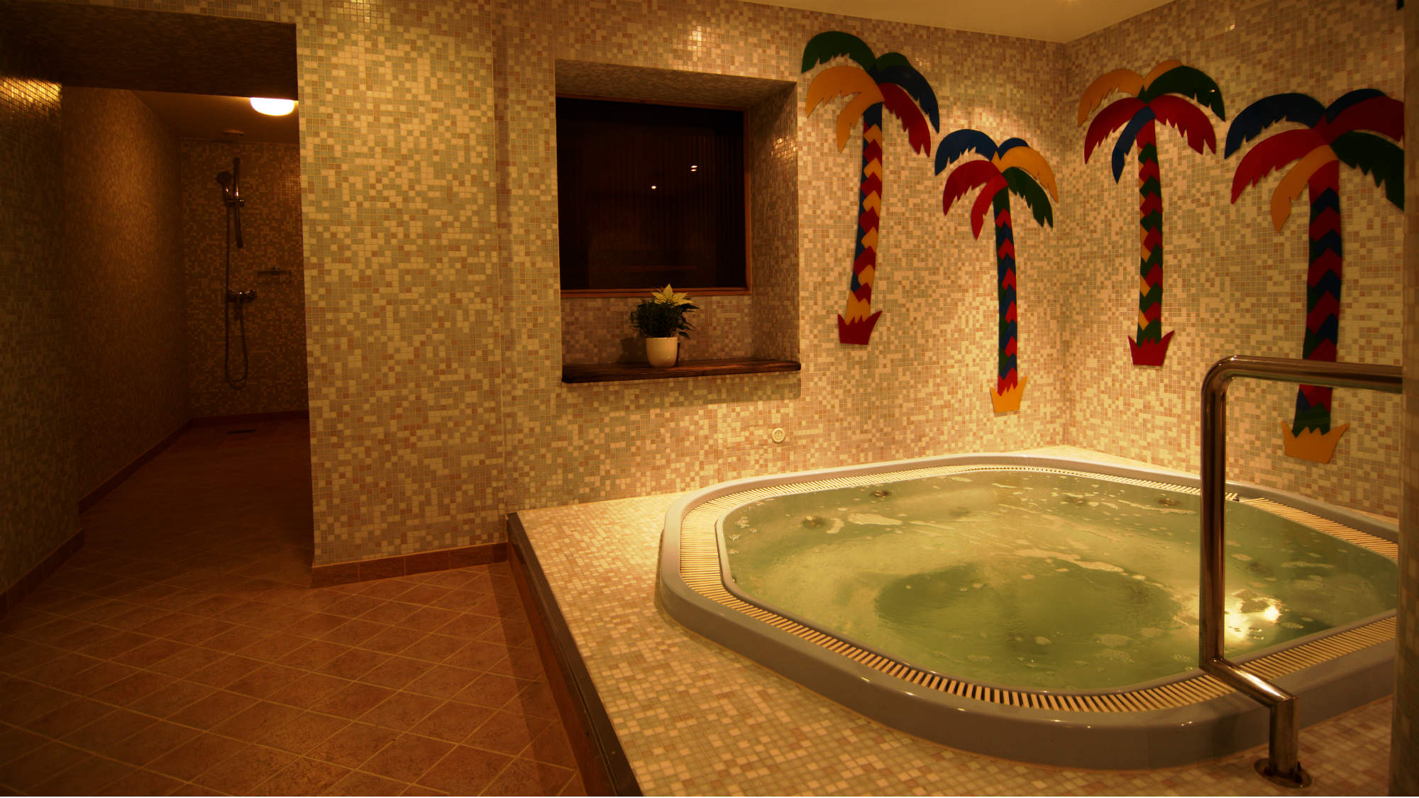 Jaccuzzi at the cozy spa of My City Hotel Tallinn