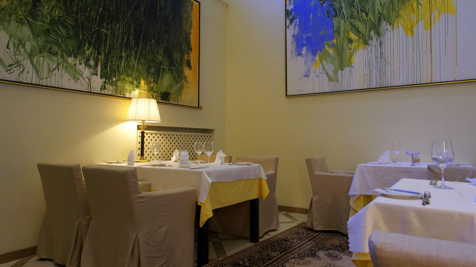 Atrium at the restaurant