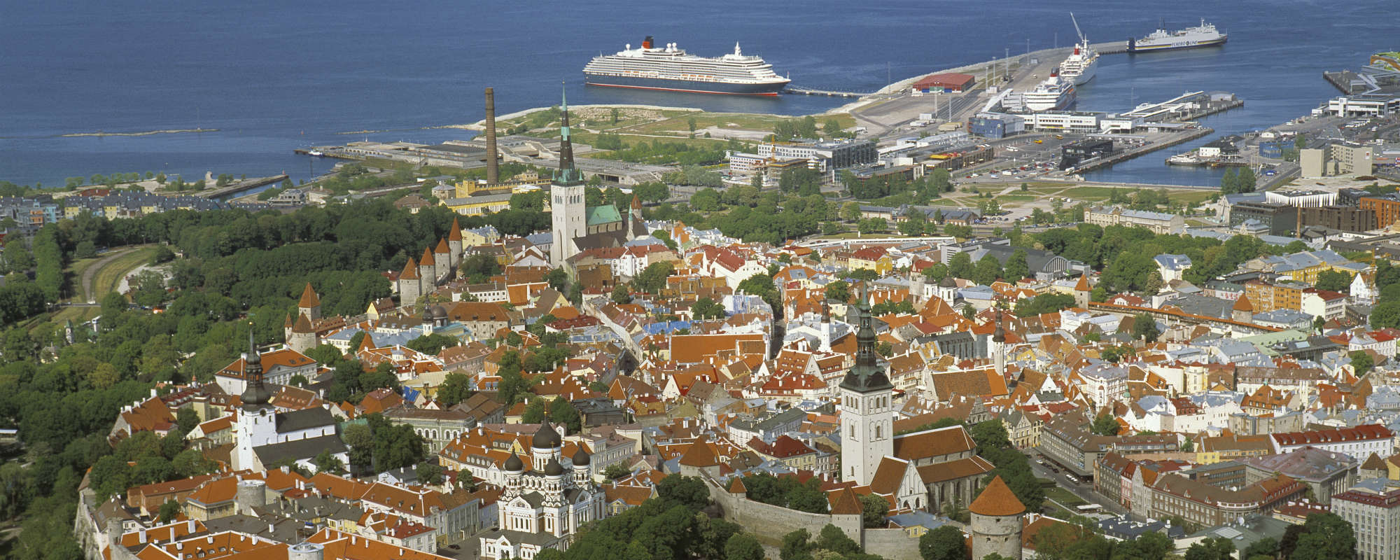 View to the Tallinn´s Old Town. Picture by Allan Alajaan