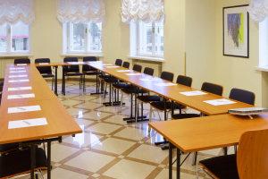 Meeting room at the charming My City Hotel Tallinn. U-shape
